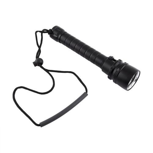 30W LED Taschenlampe Tauchlampe Taucherleuchte Tauchen Torch bis 100m HML 28
