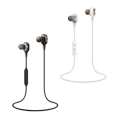 Wireless Bluetooth Headset Headphones Sport Stereo Earbuds Earphone Noise Reduce ()