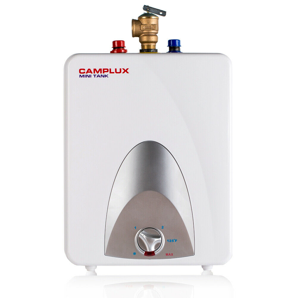 Camplux 2.5-Gallon Mini Tank Electric Hot Water Heater, 120