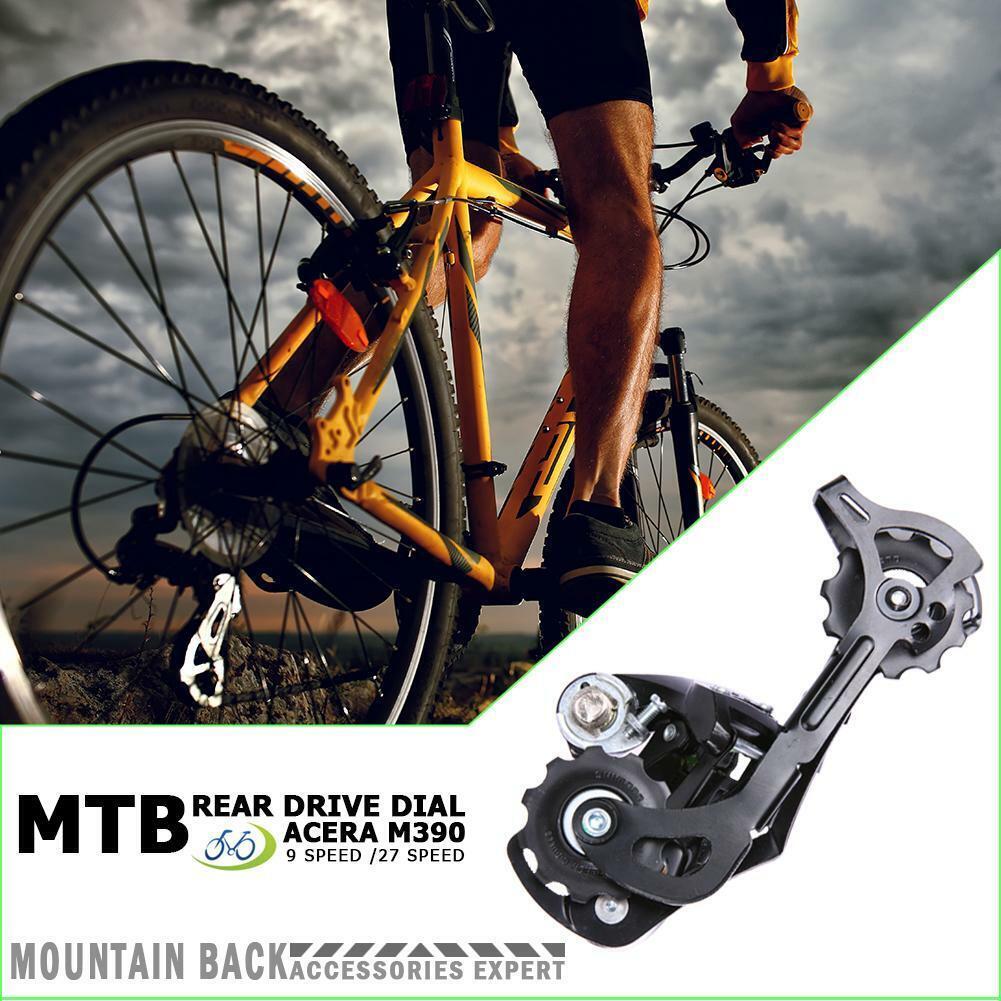 H3E# M390 Rear Derailleur 9//27 Speed MTB Mountain Bike Derailleur Bicycle Parts