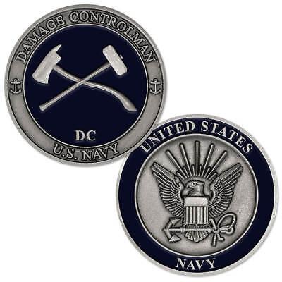 NEW U.S. Navy Damage Controlman (DC) Challenge Coin.