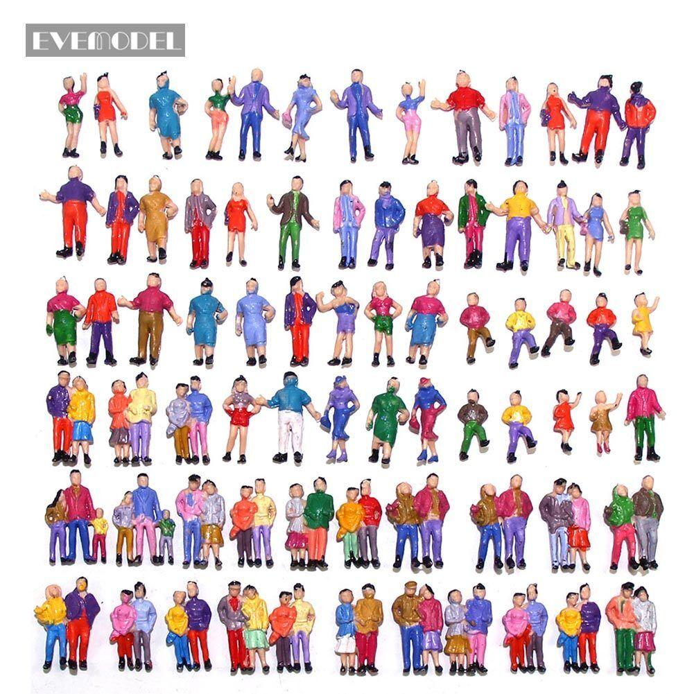 Neu 100 × verschiedene Figuren Spur H0