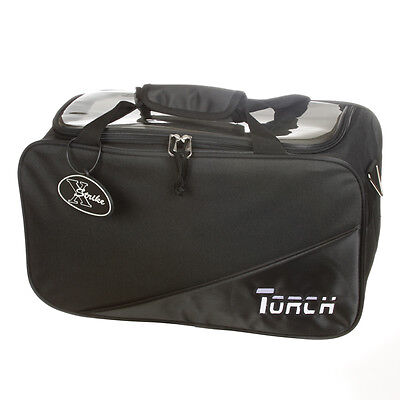 NEW TORCH 2 BALL BLACK TOURNAMENT TOTE BOWLING BAG INTRO PRICE $19.95