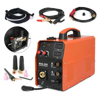 Mig200 Welder Inverter Mig Multi-function Welding Machine Mma Tig 3in1 Torch