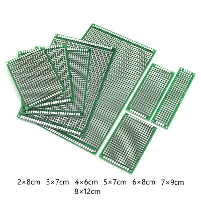 5pcs Double-sided Pcb Circuit Module Board Prototype Breadboard For Arduino Kit
