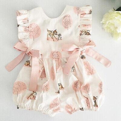 Neue Baby-mädchen-kleidung (Bogenknoten Kleidung Neugeborene Baby Mädchen Strampler Overall Body Outfits)