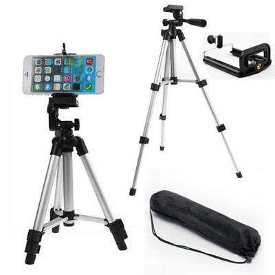Camera Tripod Stand Holder For Smart Phone iPhone 6 6S 7 8 plus Samsung S8 S7