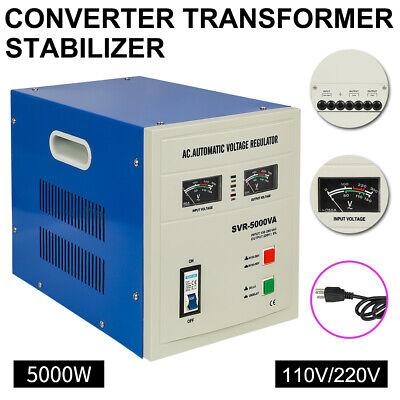 5000 Watt Voltage Converter Transformer Heavy Duty Step Up/Down 5000W -