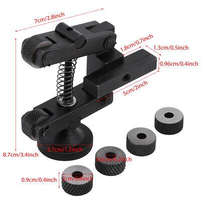 Adjustable Knurling Knurler Holder Linear Knurl Tool Lathe Shank With 6 Wheels