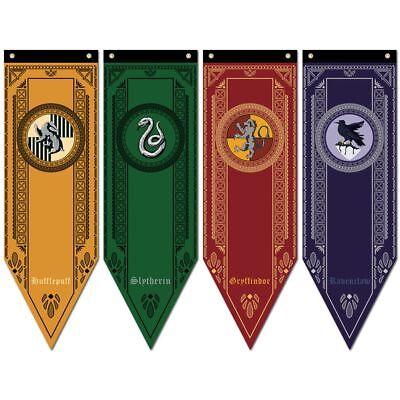 1X Harry Potter Gryffindor Slytherin Ravenclaw Hogwarts House Flag Banner - Ravenclaw Banner