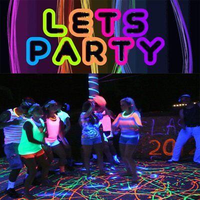 9x3W UV LED Bar Black Light Home DJ Party Club Ultraviolet Home Decoration - Black Light Decor