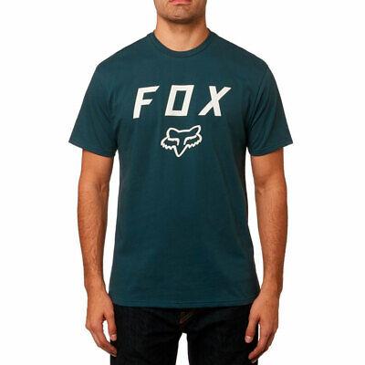 Fox Racing Men's Legacy Moth Basic Short Sleeve T Shirt Navy