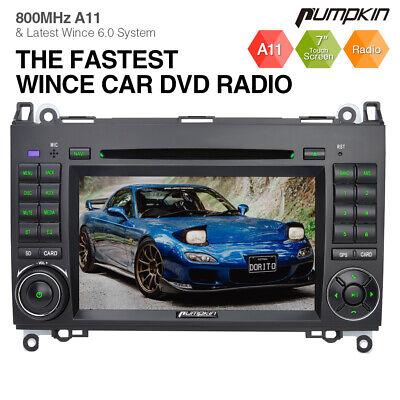 Pumpkin Autoradio DVD Für Mercedes Benz W639 Vito Viano W906 Sprinter W169 W245