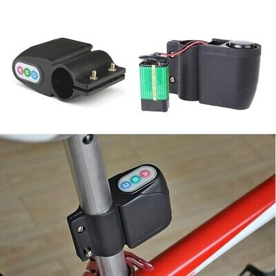 Bike 4 Digits Password Rain Proof Anti-theft Cycling Security Alarm Lock Welcome Bicycle Accessories