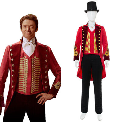 The Greatest Halloween Costumes (The Greatest Showman P.T. Barnum Suit Cosplay Costume Halloween Uniform)