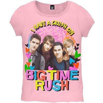 Youth Big Time T-shirt - Big Time Rush - Crush Girls Youth T-Shirt