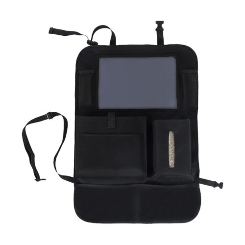 Car Seat Back Organizer 9Storage Pocket with Touch Screen Ta