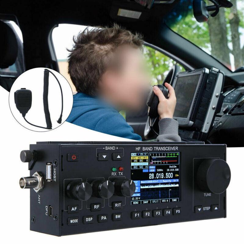 10-15W RS-918 SSB HF SDR HAM Transceiver Transmit Power TX 0.5-30MHz V0.6 MCHF