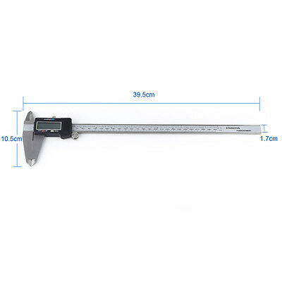12 300mm Electronic Digital Vernier Caliper Micrometer Large Lcd Display Usa
