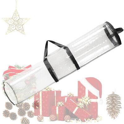 40 inch Christmas Gift Wrapping Paper Storage Bags Container
