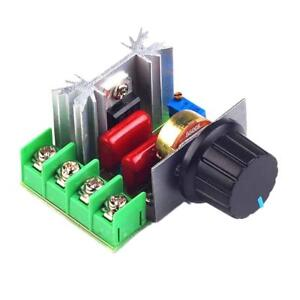 2000W AC Motor Speed Controller 50-220V Adjustable Voltage Regulator UK SELLER