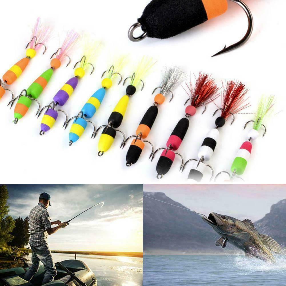 4pcs//Lot Kinds of Fishing Lures Crankbaits Hooks Minnow Baits Tackle Crank B1R5