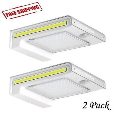 Outdoor LED Light Photocell Dusk to Dawn Barn Lights Waterproof Yard -
