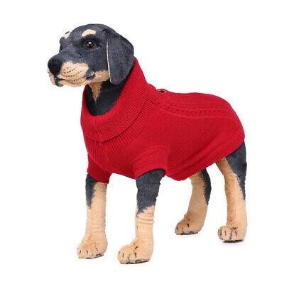 Big Dog Clothes Fleece Knitwear Large Dog Pet Sweater Clothing Dress Jumpsuit