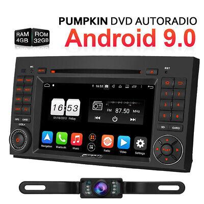 Android 9.0 Autoradio 4GB Für Mercedes Benz A/B Klasse Sprinter Viano Vito W639