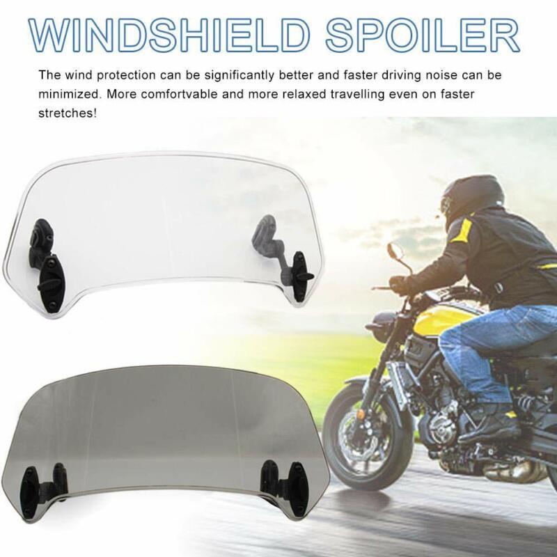 Universal Einstellbare Motorrad Windschutzscheibe Windabweiser Motorrad Windschutzscheibe