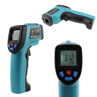 Non-contact Lcd Ir Laser Infrared Digital Temperature Thermometer Gun Pyrometers
