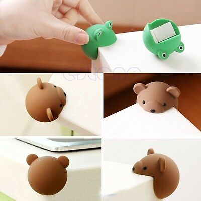 Desk Corner Edge Protection Cover Cute Silicone Baby Safety Protector 2pcs