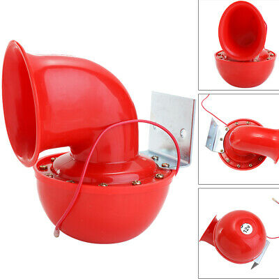 200DB 12V Super Loud Sound Electric Bull Air Horn For Motorcycle Car Truck Boat