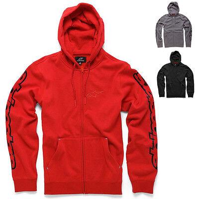 Alpinestars Racing Determine Casual Fleece Mens Guys Mx Zip Up Hoodies