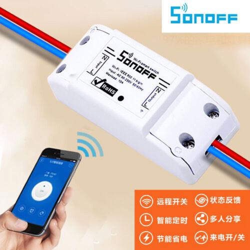 Sonoff ITEAD WiFi Wireless Smart Switch Module Shell ABS Socket for Home DIY