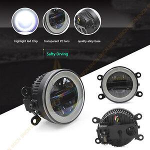 LED Fog lamp For Suzuki Swift SX4 Vitara Jimmy Angel Eyes Daytime Running Lights