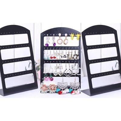 48 Holes Earring Stand Necklace Holder Bracelet Display Jewellery Organizer Rack
