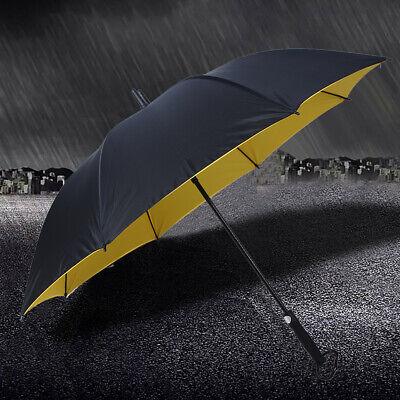Umbrella Double Windproof Water Storm Proof Anti- Oversize Stick Umbrella US