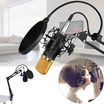 Voilamart BM-800 Kondensator Mikrofon Mikrofonarm Studio Aufnahme Kit Set DHL 03