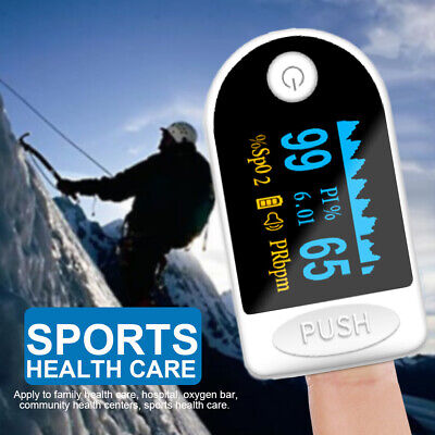 Pulse Fingertip Oximeter Blood Oxygen Spo2 Monitor Pr Pi Heart Rate Fda Ce