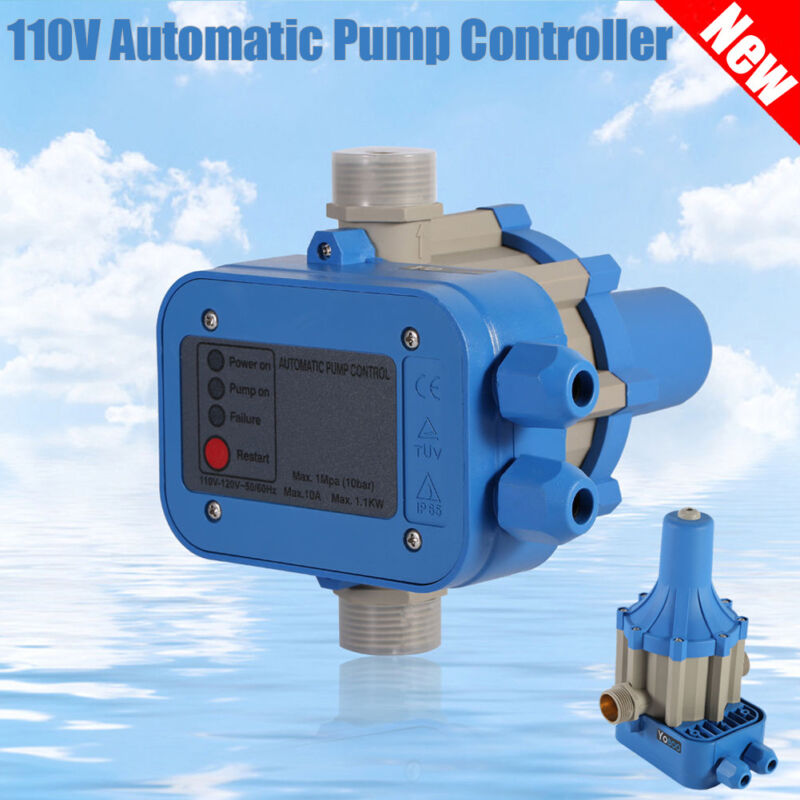 Automatic Electronic Switch Control Water Pump Pressure Controller 110 ON OFF