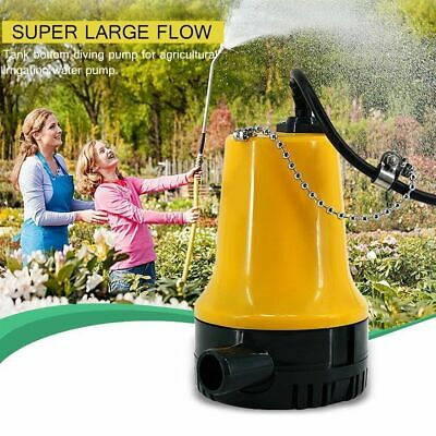 Electric Submersible Agricultural Immersible Pump Under Water Pump 12v 50w