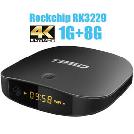 Android TV Box T95D High spec 1G/8G 4k Streamer for UK