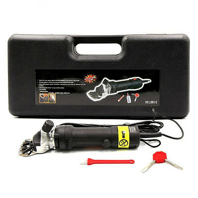 320W Electric Sheep Goat Shears Clippers Animal Shave Grooming Farm Livestock