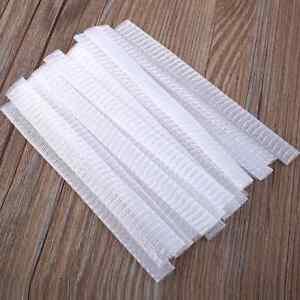 20Pcs Cosmetic Make Up Brush Pen Netting Cover Mesh Protectors Guards Gift
