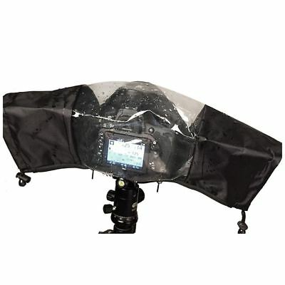 Rain Cover Camera Protector with Screen Window Rainproof for Nikon Canon DSLR