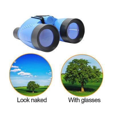 Portable Kid Binoculars Outdoor Bird Watching Star Gazing Birthday Gift Toy W9