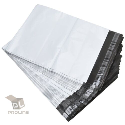 1000 12x16 Poly Mailers Self Sealing Shipping Envelopes Plastic Bags 2.5 Mil