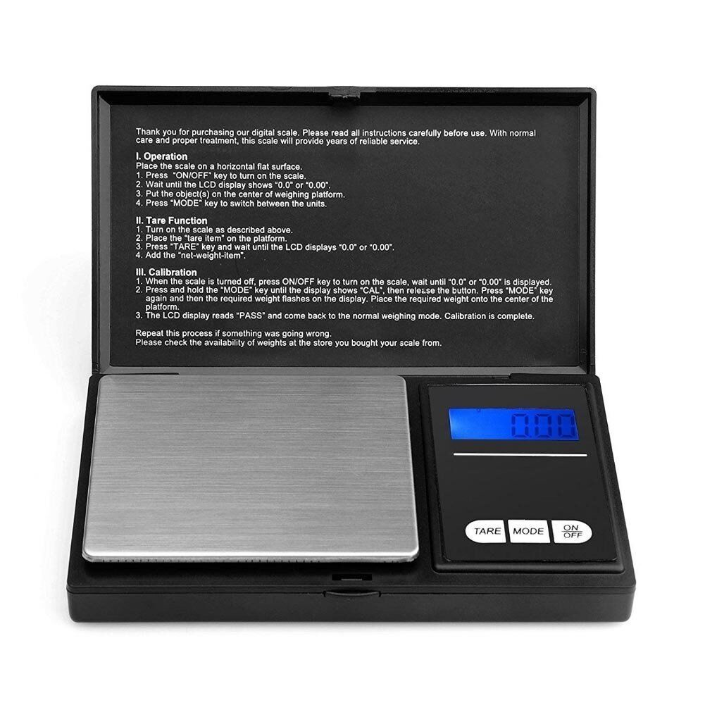 Jewellery - Electronic Pocket Mini Digital Gold Jewellery Weighing Scales 0.01G to 100 Grams