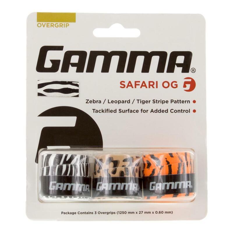 Gamma Safari Tennis Overgrip (   Multicoloured )